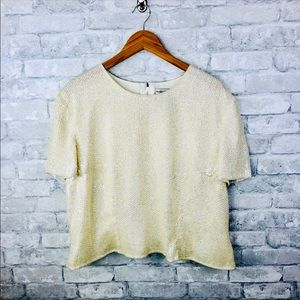 Papell Boutique Vintage Evening Top